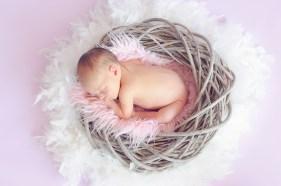 赤ちゃん, 眠っている赤ちゃん, 女の赤ちゃん, 新生児, かわいい, 裸, 皮膚