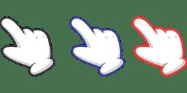 Finger, Indication, Cursor, Hand, Gloves