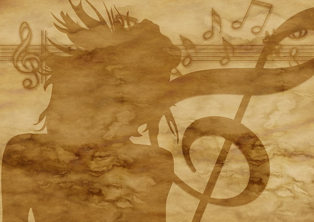Free illustration Paper Parchment Clef Music Girl