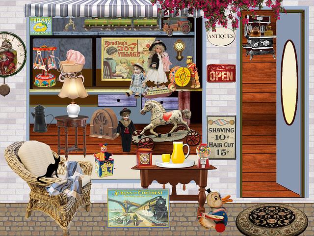 Shop Trade Antiques  Free image on Pixabay