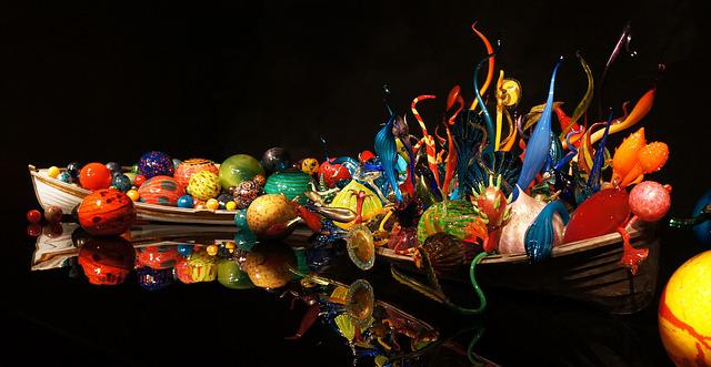 Anime Snow Wallpaper Free Photo Chihuly Glass Art Colorful Free Image On