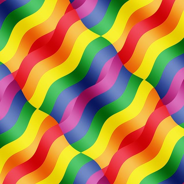 Free Illustration Rainbow Colors Wave Curve Free Image On Pixabay 838812