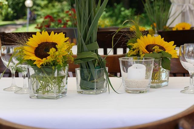 Kostenloses Foto Blumengesteck Deko Blumen