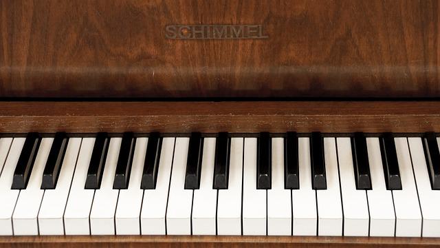 White Blue Wallpaper Hd Free Photo Piano Keyboard Keys Music Free Image On