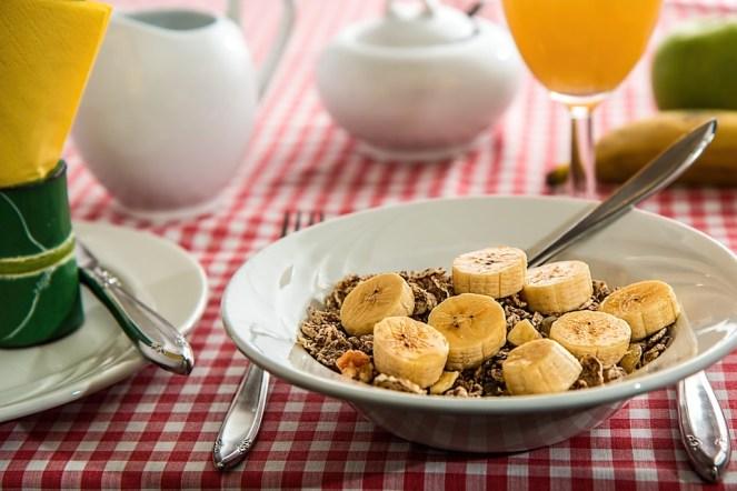 Cereais, Pequeno Almoço, Refeição, Alimentos, Taça