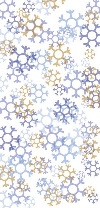 Free Illustration Snowflakes Christmas Winter Free