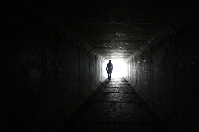 Free Photo Tunnel Silhouette Mysterious Free Image On Pixabay 899053
