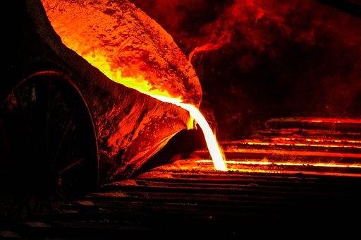 Iron, Melt, Furnace, Metal, Hot, Fire