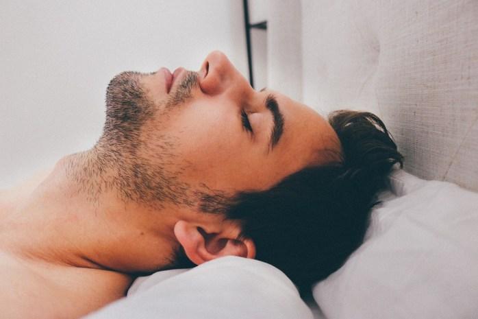 Man, Young, Male, Adult, Sleeping, Deep, Sleep
