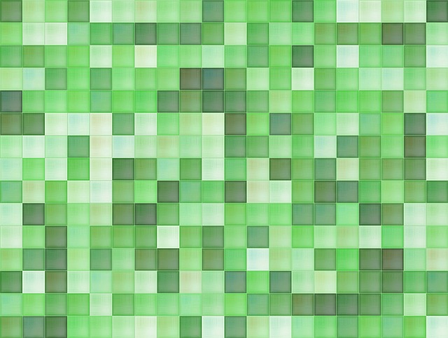 Mosaic Wallpaper Green  Free image on Pixabay
