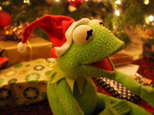 Free Photo Kermit Frog Christmas Frog Free Image On