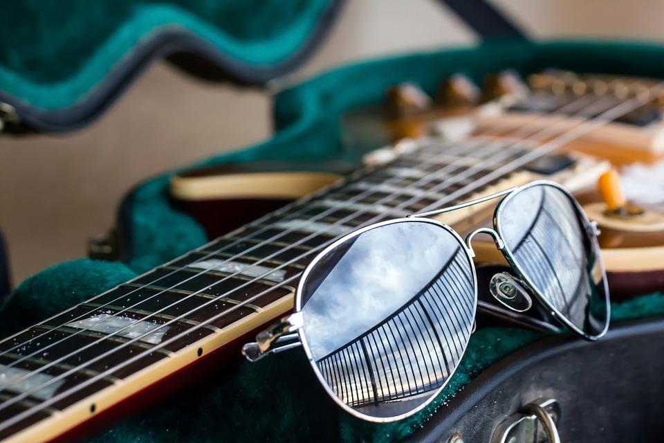 Free photo Guitar Aviator Sunglasses  Free Image on