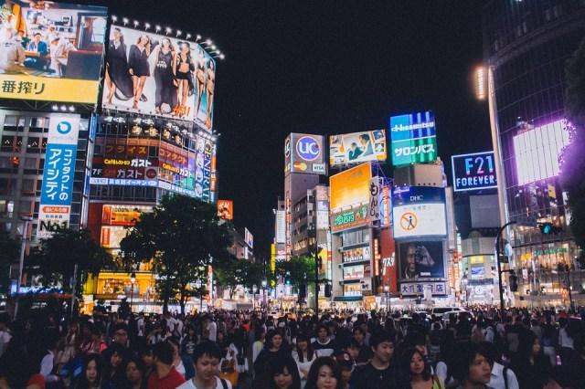 Shibuya Crossing, Tokyo, Japan, Asia, People, Crowd