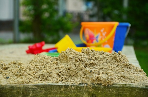 Playground, Sand, Sand Pit, Clean, Residential Area