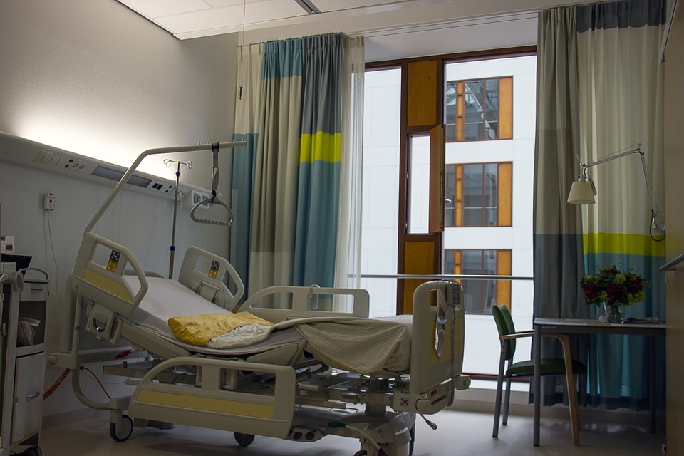 Concern, Hopital, Room, Bed, New, Enschede