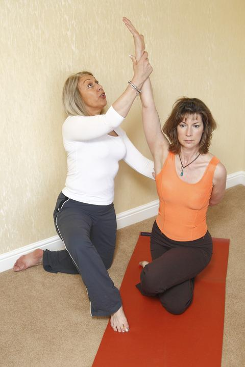 Yoga Therapy, Frozen Shoulder, Stretching, Yoga