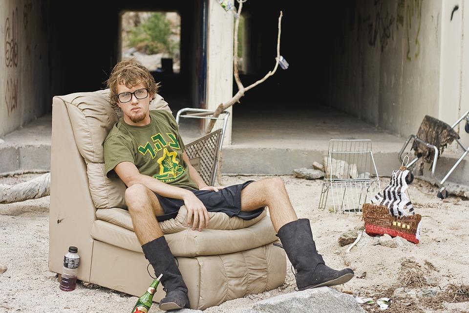 Man, Homeless, Homeless Man, Poverty, Poor, Dirty