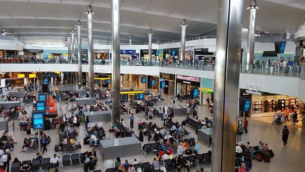 London, Heathrow, Airport, England