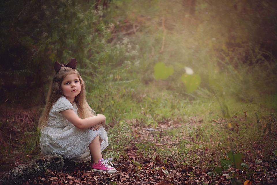 Sad Small Girl Wallpapers Girl Child Woods 183 Free Photo On Pixabay
