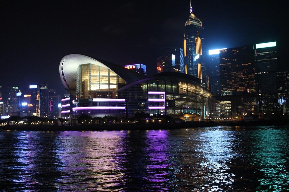 Natural Scene Hd Wallpapers Hong Kong Central Night View 183 Free Photo On Pixabay