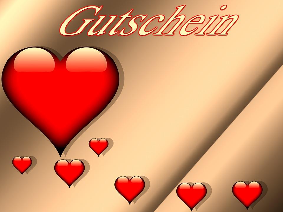 Herz Gutschein Rot  Kostenloses Bild auf Pixabay