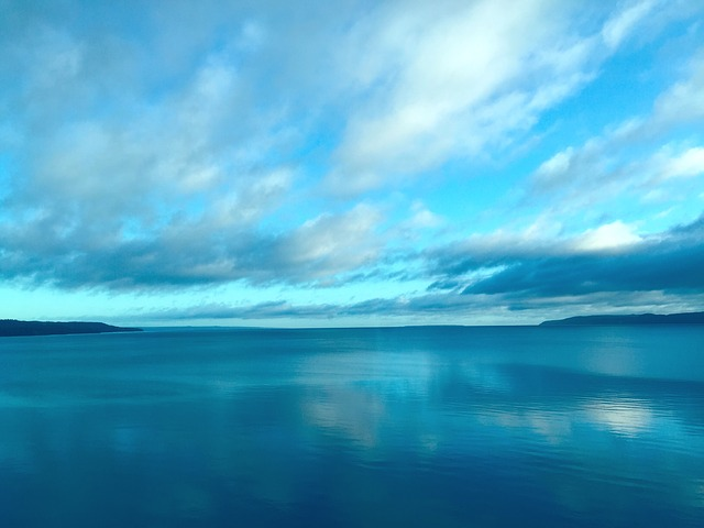 Blue Iphone Wallpaper Kostenloses Foto Himmel V 228 Ttern Lake Blau Natur