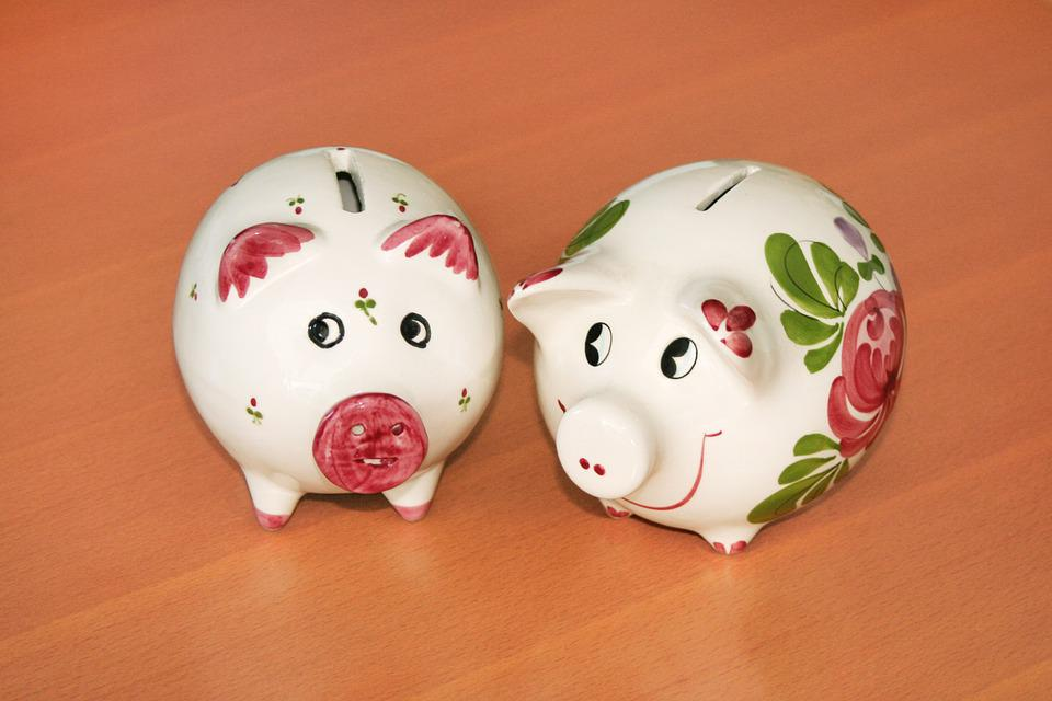 Piggy Bank, Money, Save, Coins, Euro, Cent, Seem