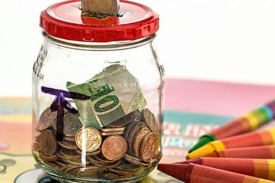 Piggy Bank, Savings, Coins, Cash