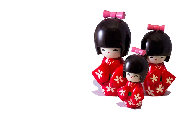 Japanese Dolls Cut Out  Free photo on Pixabay