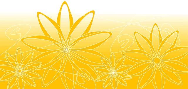 Latar Belakang Pola Kuning Bunga  Gambar gratis di Pixabay