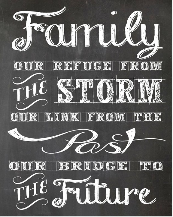 Free illustration Message Family Calligraphy  Free