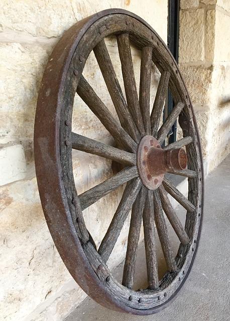Wagon Wheel History Old West  Free photo on Pixabay