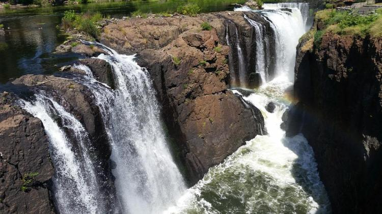Rainbow, Waterfalls, Paterson, Falls, New Jersey, Park
