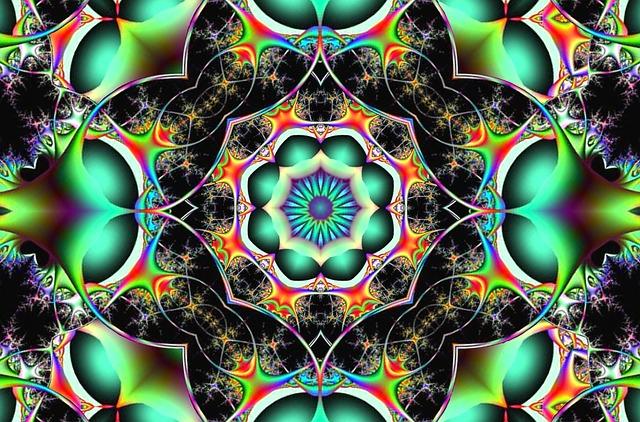 Animal Pattern Wallpaper Free Illustration Fractal Chaos Symmetry Free Image
