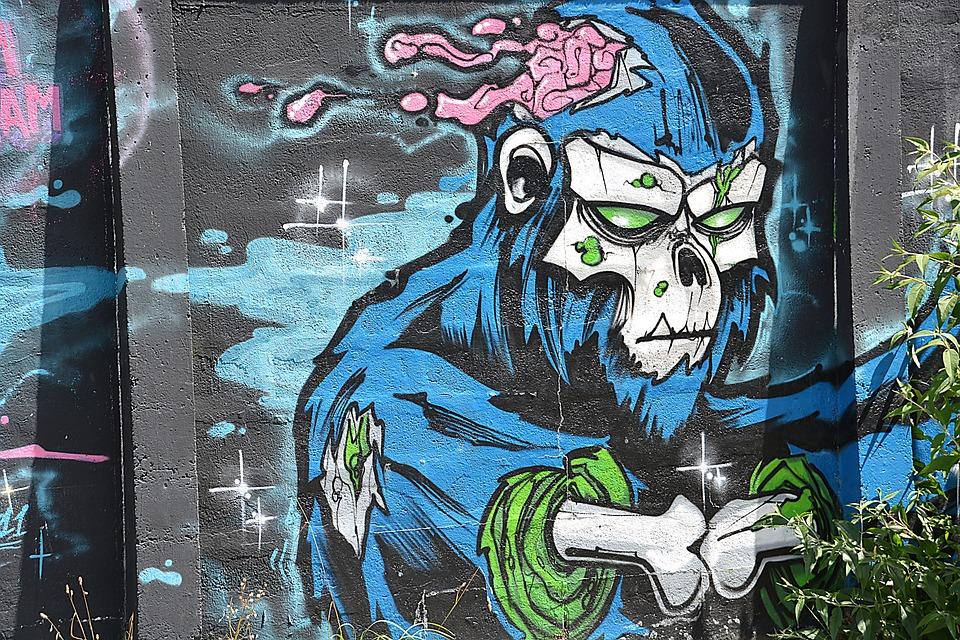 Free photo Fresco Graffiti City  Free Image on Pixabay
