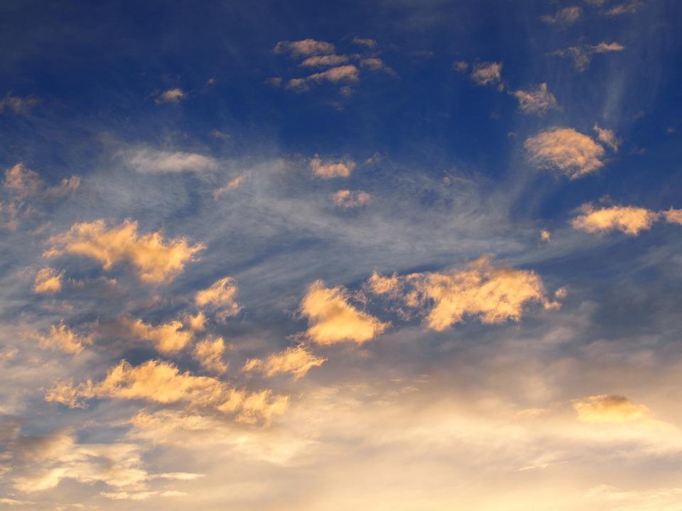 Fall Landscape Free Wallpaper Free Photo Sky Clouds Blue Autumn Blue Sky Free