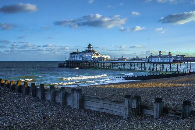 Blue Wallpaper For Girls Free Photo Eastbourne Pier England Seascape Free