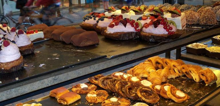 Coffee Shop, Europe, Copenhagen, Pastries, Cafe, Coffee