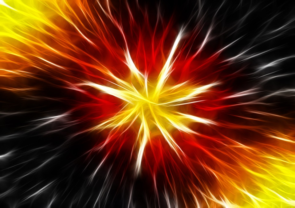 Neon Wallpaper Hd Kostenlose Illustration Abstrakt Stern Explosion