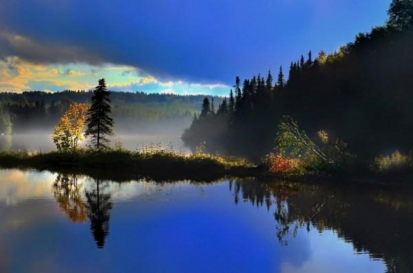 landscape reflections lake free