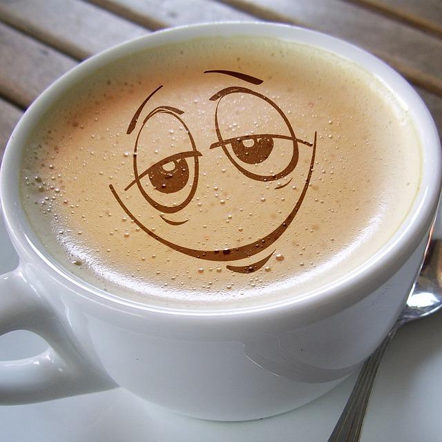 Cup Coffee Foam Caf 233 Au 183 Free Image On Pixabay
