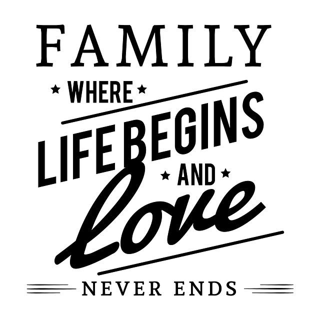 Mensaje Family Lyrics · Free image on Pixabay