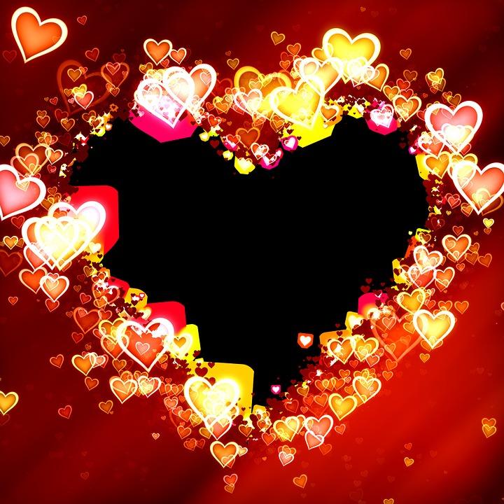 Free Illustration Heart Frame Picture Frame Design