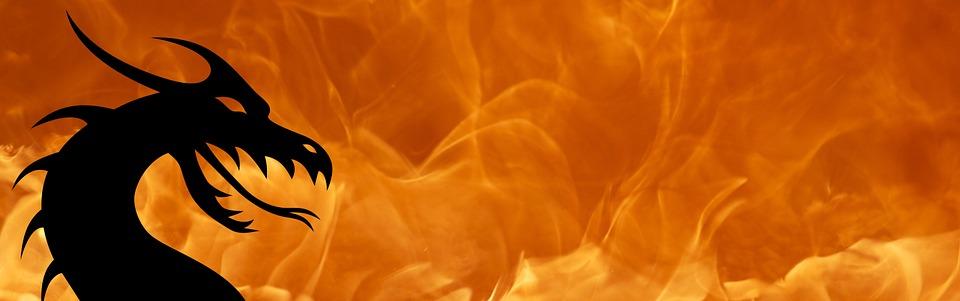 dragon fire flame free