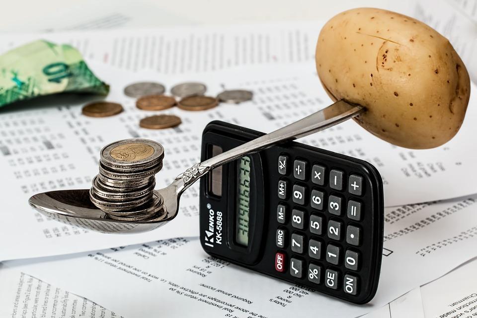 Coins, Calculator, Budget, Household Budget, Money