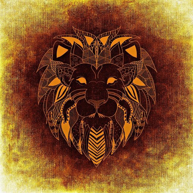 Free illustration Lion Wild Animal Abstract  Free