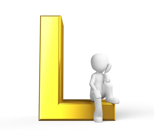 L Letter Alphabet Alphabetically Abc
