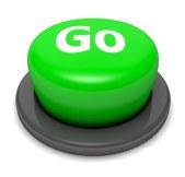 Button, Stopp, Go, Drücken, Klick überzogenes Konto auffüllen.