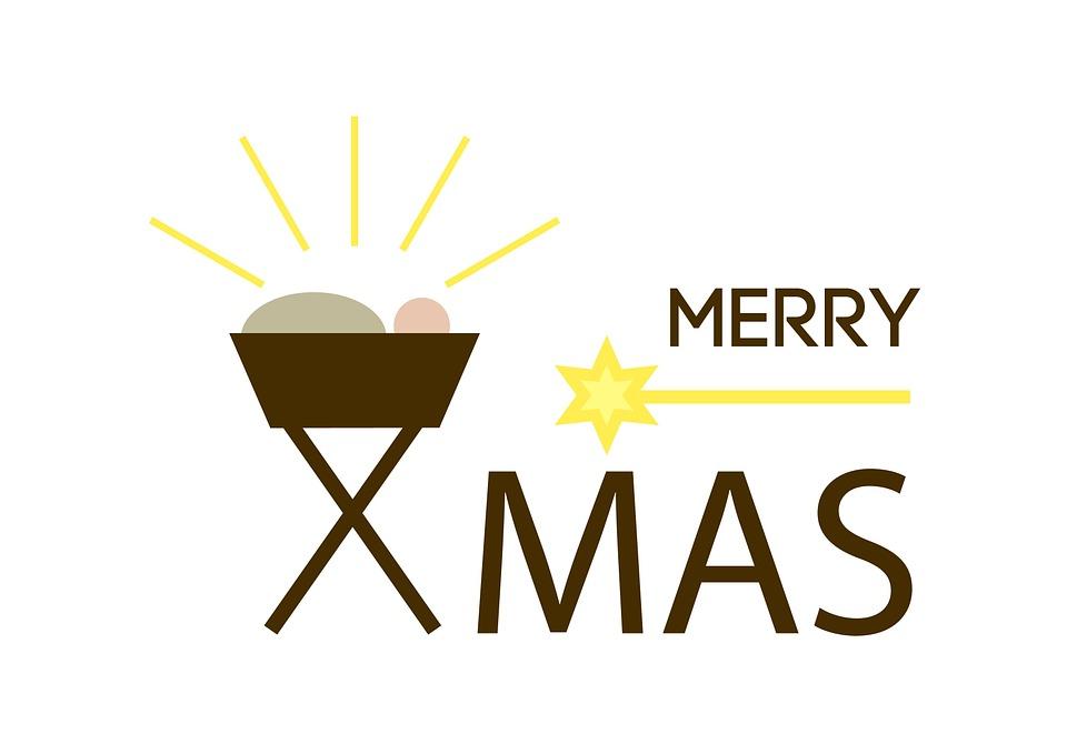 Kostenlose Illustration Xmas X Mas Merry Weihnachten