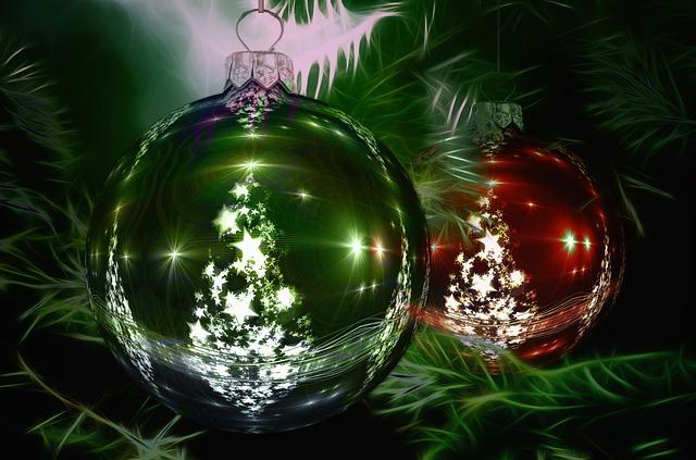 Free Illustration Christmas Ornament Christmas Tree